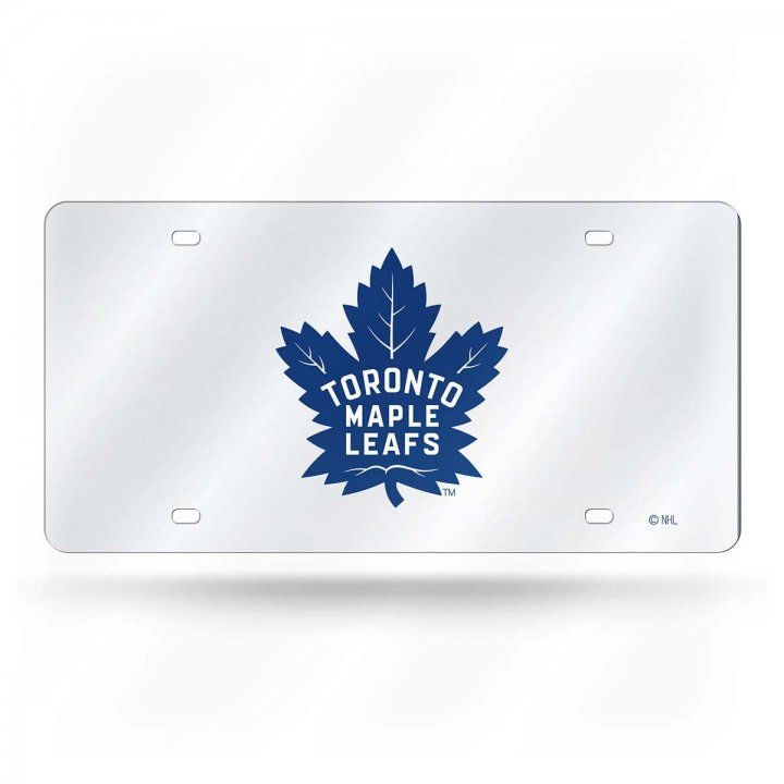 Toronto Maple Leafs NHL Laser Cut Alternate License Plate Tag