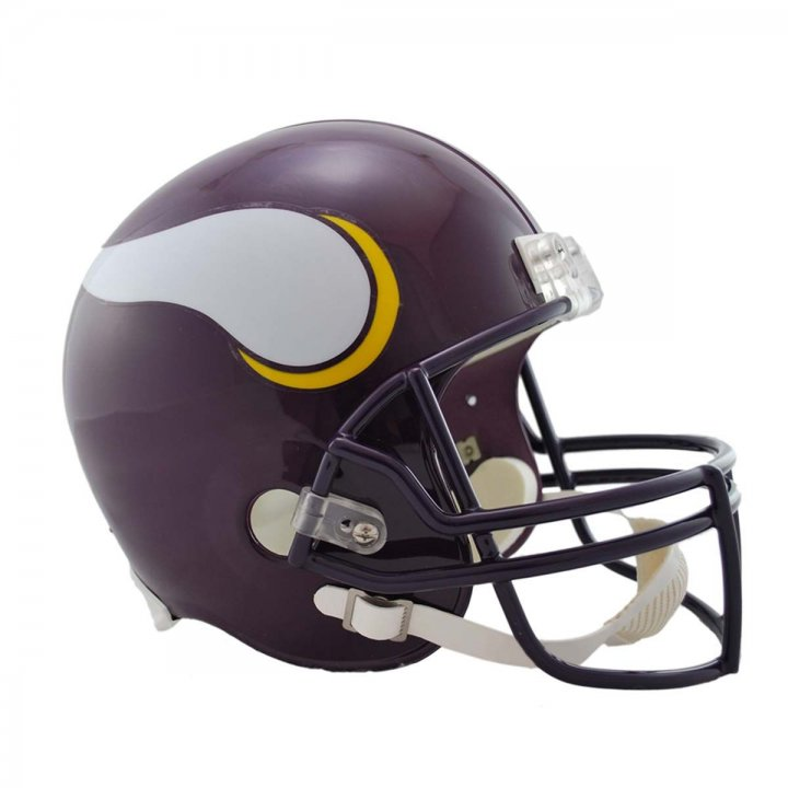 Minnesota Vikings Throwback 1983-2001 VSR4 Deluxe Replica Helmet
