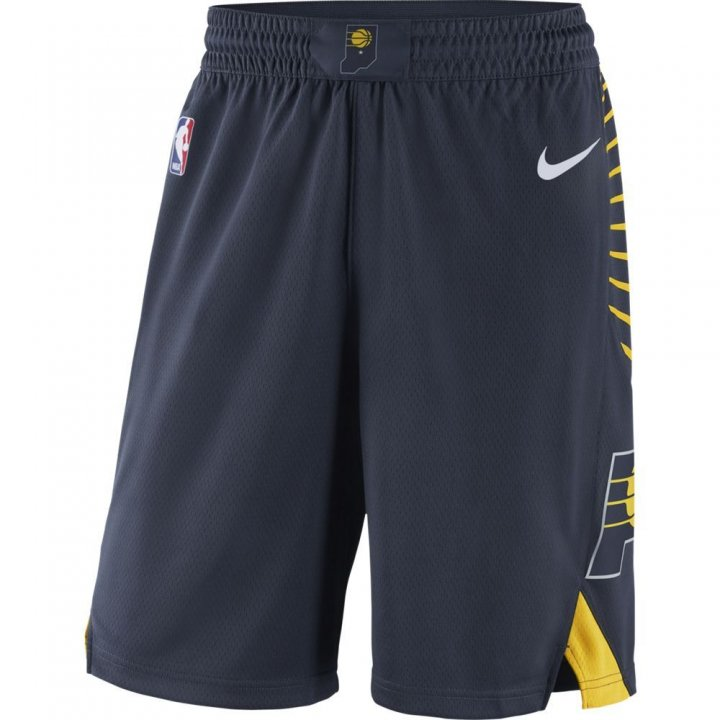 Indiana Pacers NBA Nike Icon Swingman Shorts (Navy)