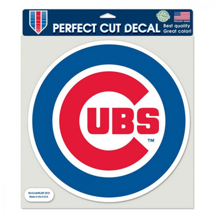 Chicago Cubs MLB 8 C Die Cut Decal