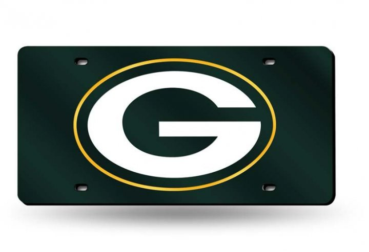 Green Bay Packers NFL Laser Cut License Plate Tag
