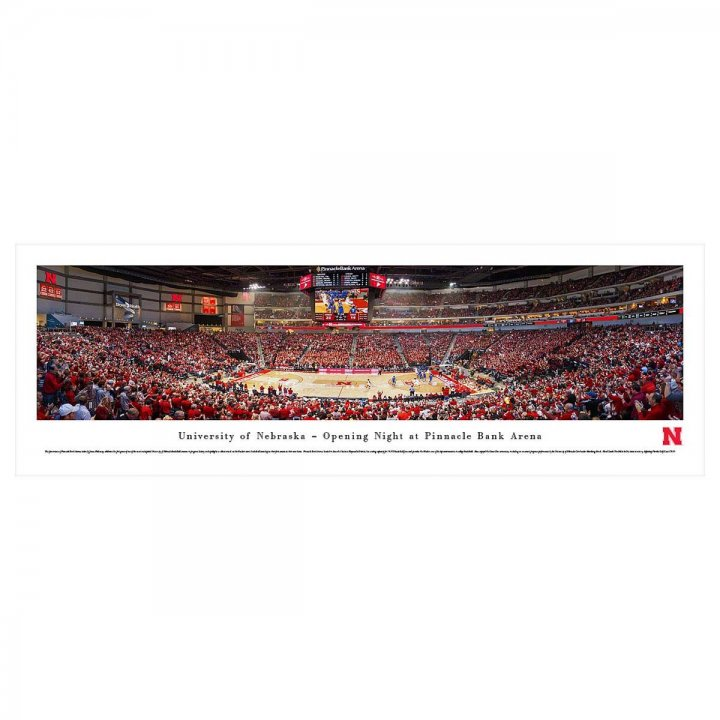 Nebraska Corn Huskers Unframed Panorama