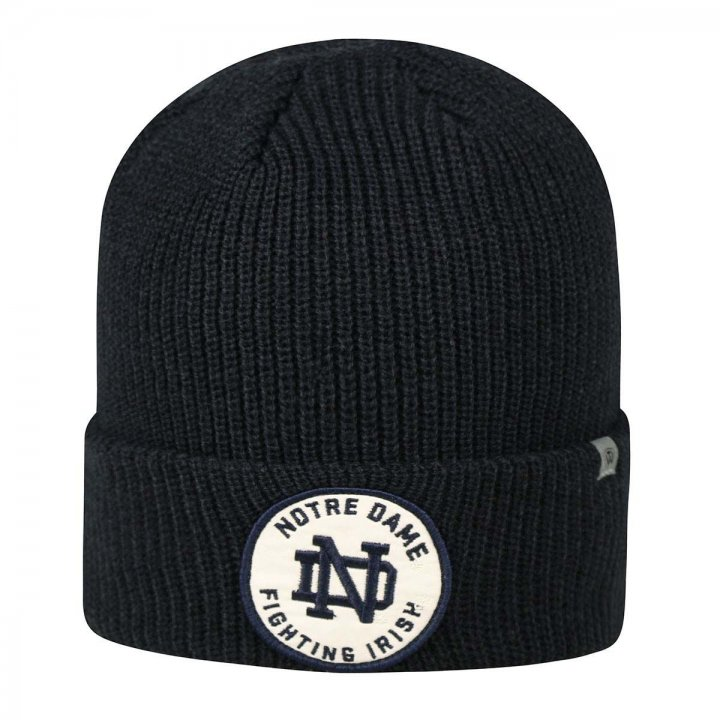 Notre Dame Fighting Irish Knit Wharf Beanie (Navy)