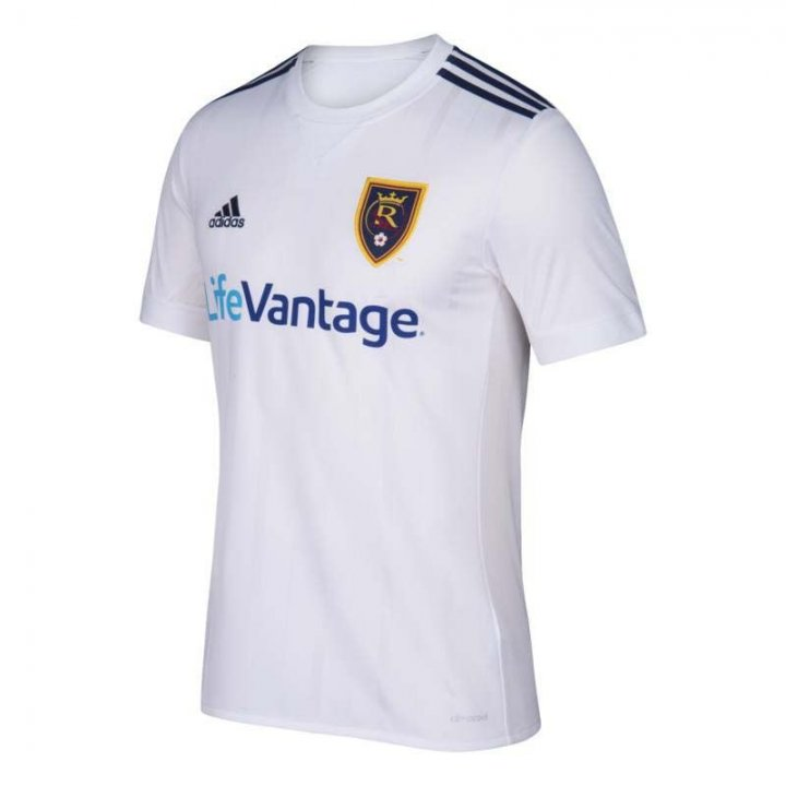 Real Salt Lake MLS Secondary Replica Jersey (White)