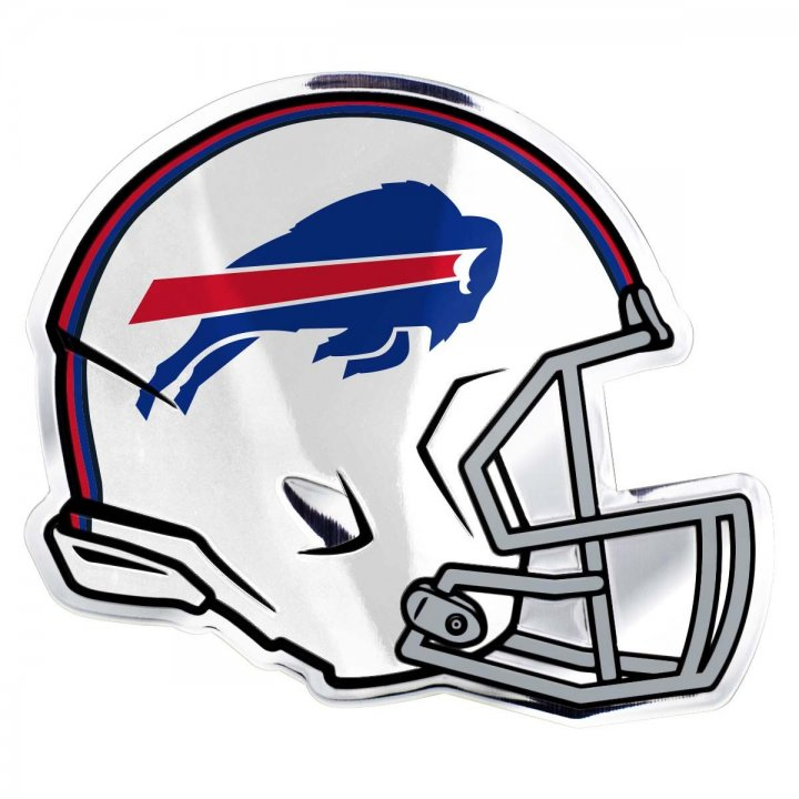 Buffalo Bills Helmet Emblem