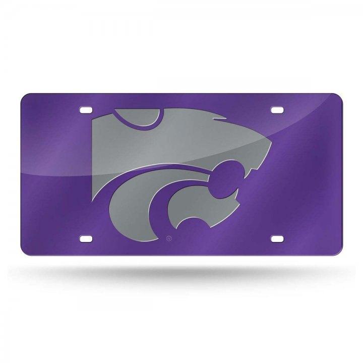 Kansas State Wildcats NCAA Laser Cut Tag
