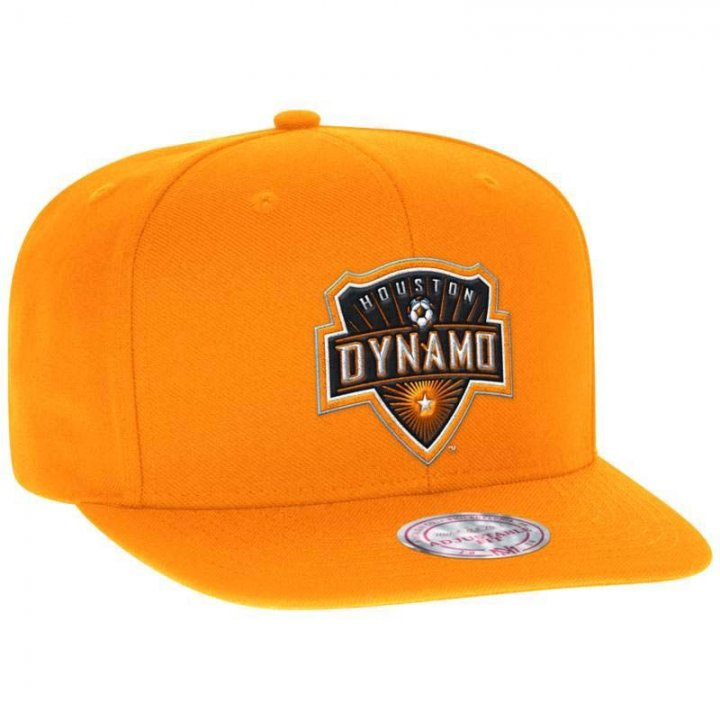 Houston Dynamo MLS Team Solid Snapback (Orange)