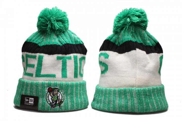 New Era NBA Sport Knit Beanie Hat Winter Cap(Boston Celtics)