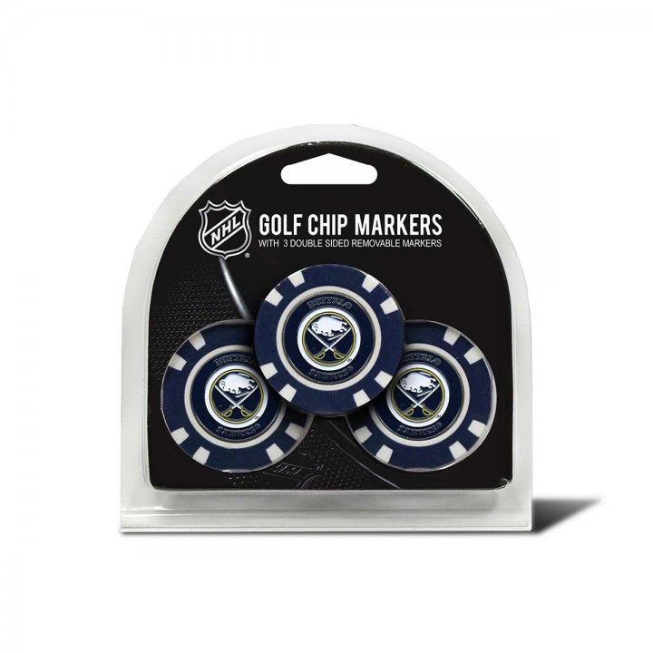 Buffalo Sabres Golf Ball Markers 3 Pack