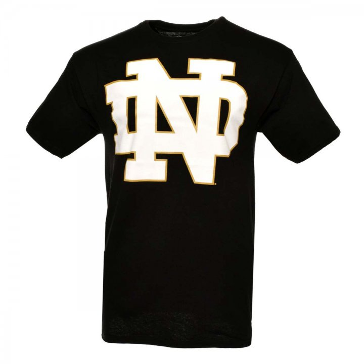 Notre Dame Fighting Irish NCAA Color Pop Tee (Black)