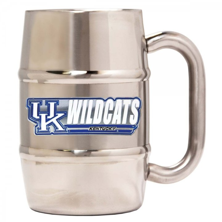 Kentucky Wildcats Kentucky Wildcats 16 oz Double Wall Stainless Steel Mug