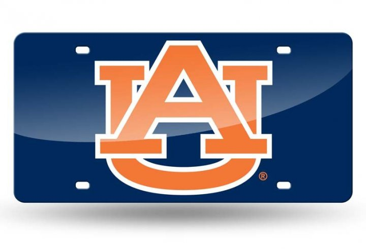 Auburn Tigers NCAA Laser Cut Tag