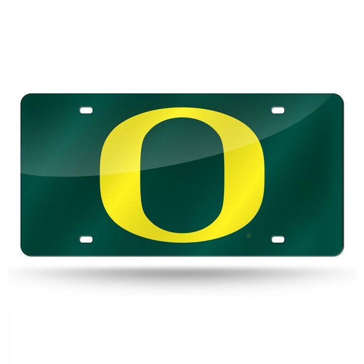 Oregon Ducks NCAA Laser Cut License Plate Tag