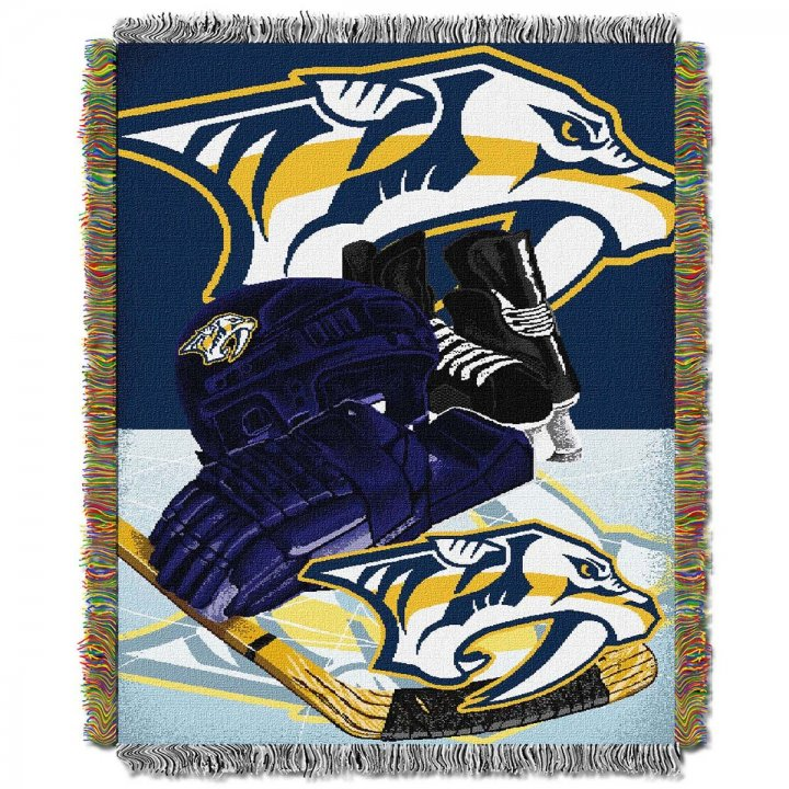 Nashville Predators Home Ice Advantage Throw