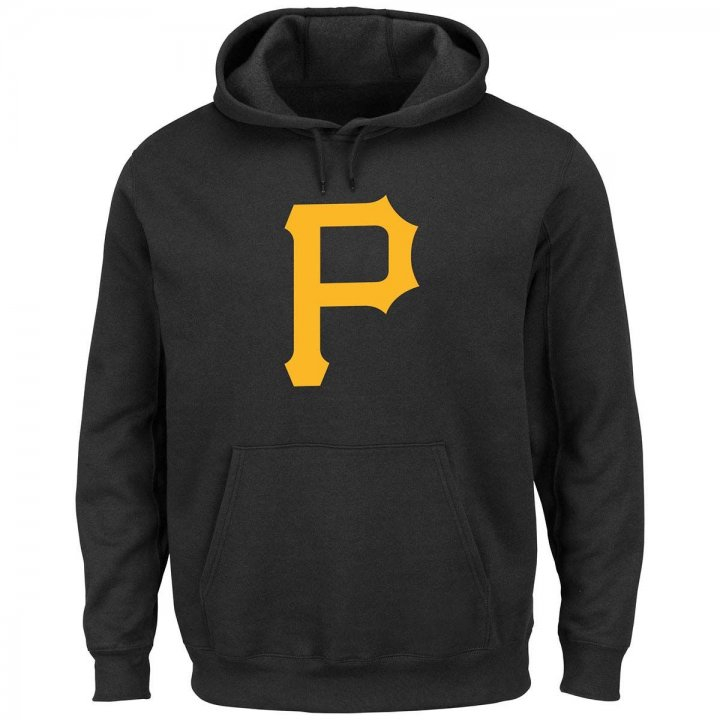 Majestic Pittsburgh Pirates Scoring Position Hoodie (Black)