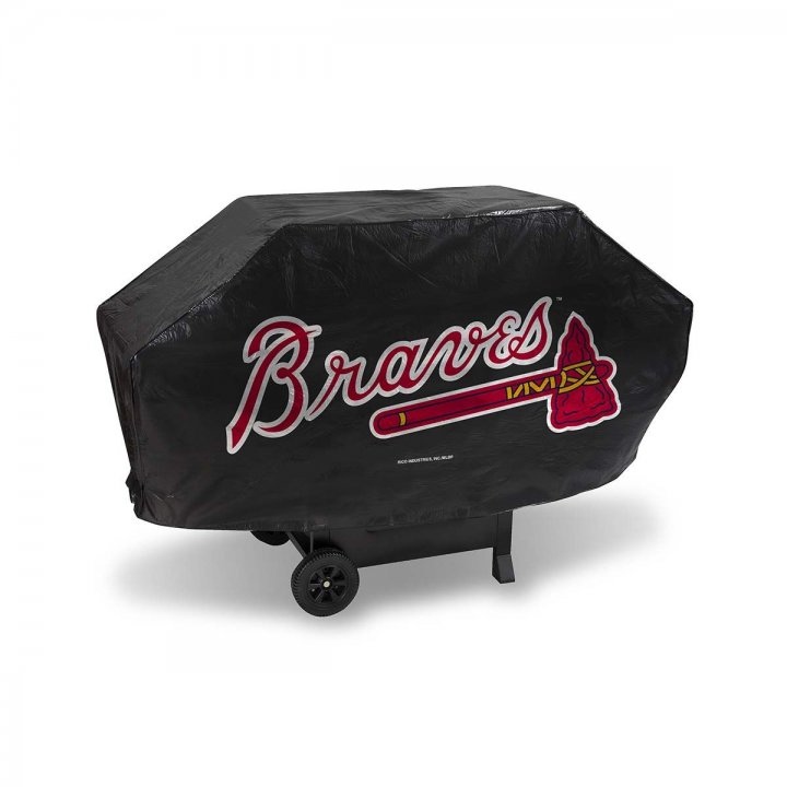 Atlanta Braves Deluxe Grill Cover