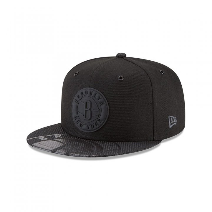 Brooklyn Nets NBA On Court Collection 950 Fashion Hat (Black)