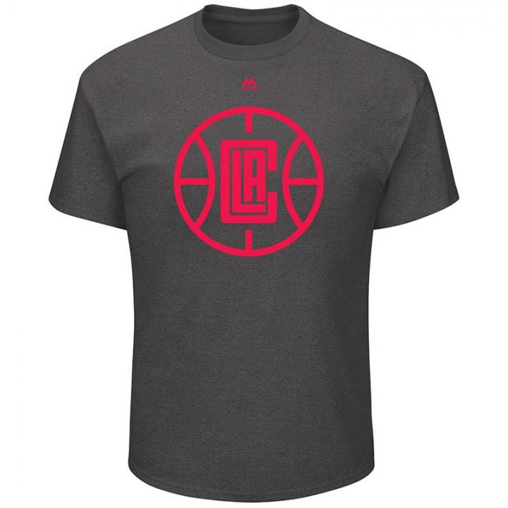 Los Angeles Clippers NBA Relentless Preparation Tee (Charcoal)