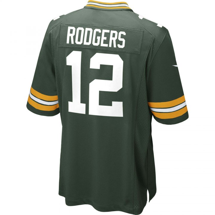 Aaron Rodgers Green Bay Packers Nike Game Jersey (Green)