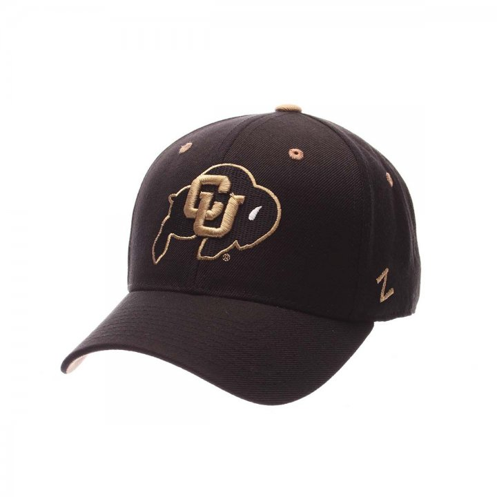 Colorado Buffaloes Zephyr NCAA Dhs Fitted Hat (Black)