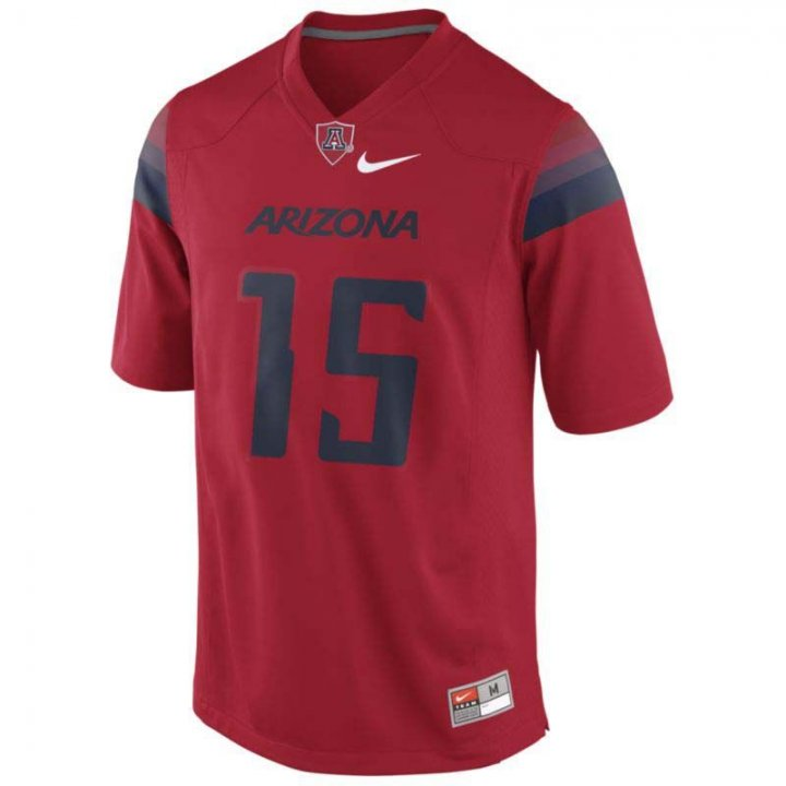 Nike Arizona Wildcats Football Game #15 Jersey (Red)