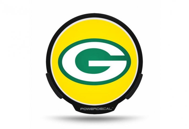 Green Bay Packers NFL Auto Powerdecal