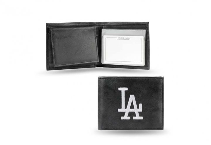Los Angeles Dodgers MLB Leather Wallet (Black)