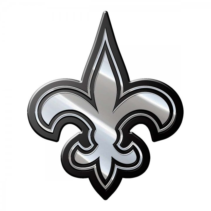 New Orleans Saints Metal Emblem