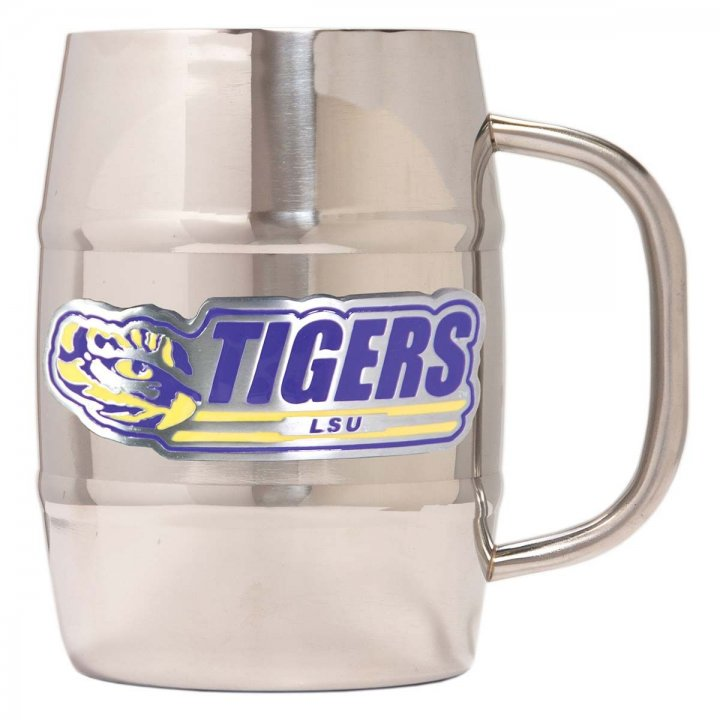 LSU Tigers Lsu Tigers 32 oz Double Wall Stainless Steel Mug