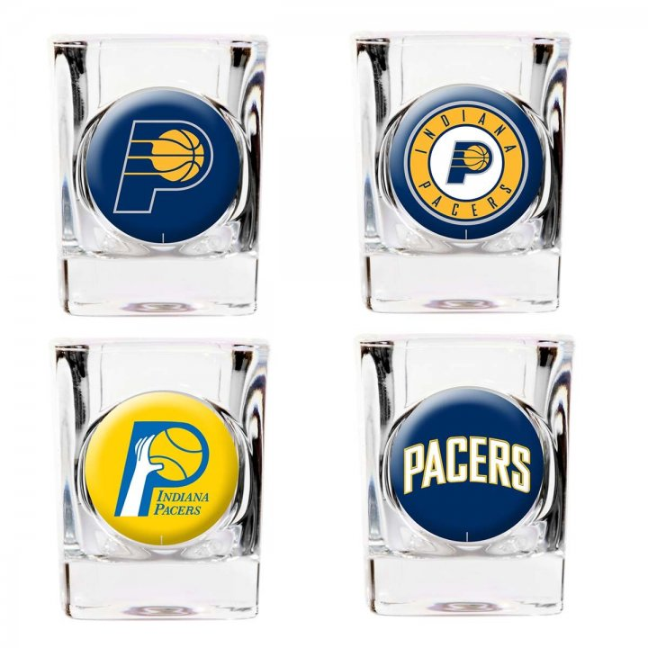Indiana Pacers Indiana Pacers 4 Piece Collector's Shot Glass Set
