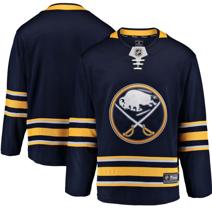 Buffalo Sabres NHL Mens Home Breakaway Jersey (Navy)