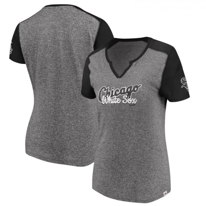 Chicago White Sox MLB Womens Invulnerable T-Shirt (Gray)