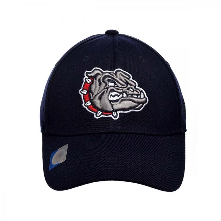 Gonzaga Bulldogs 1 Fit Premium Stretch Fit Hat (Navy)