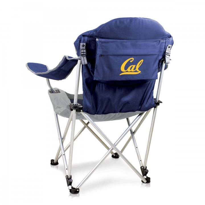CAL Golden Bears Reclining Camp Chair (Navy)