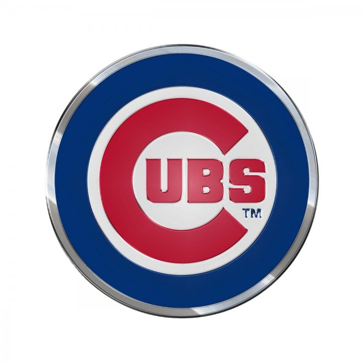 Chicago Cubs Color Emblem