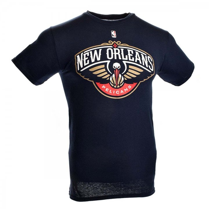 New Orleans Pelicans Primary Logo T-Shirt (Navy)