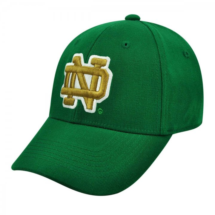 Notre Dame Fighting Irish Alternate Stretch Hat (Green)