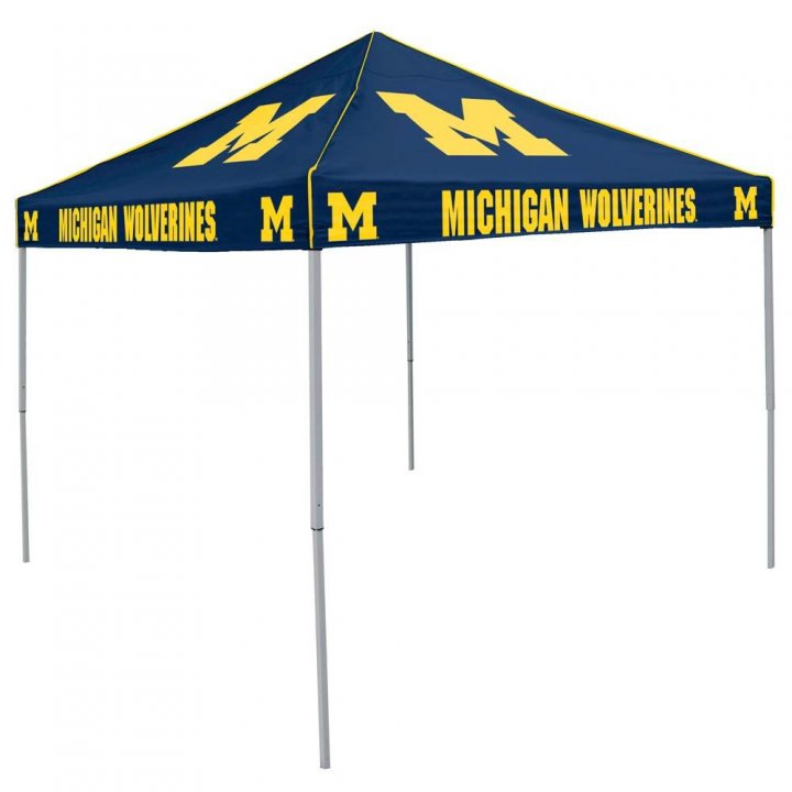 Michigan Wolverines Colored Tent