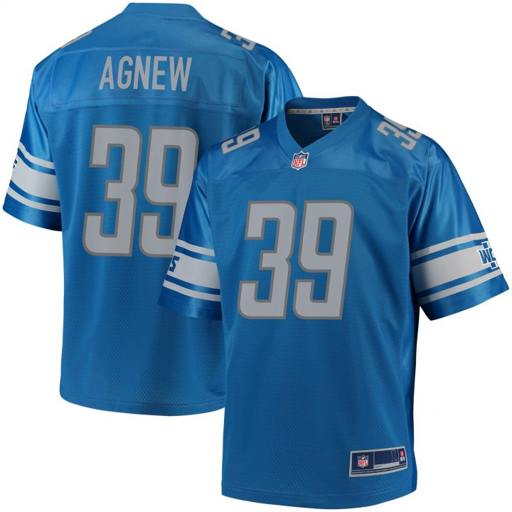 Outerstuff Youth Kids 39 Jamal Agnew Detroit Lions Jersey Light Blue