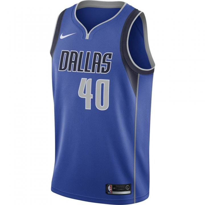 Dallas Mavericks NBA Harrison Barnes Mens Nike Icon Swingman Jersey (Royal)