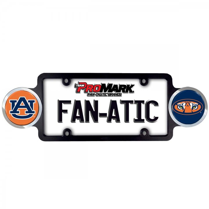 Auburn Tigers Badge License Plate Frame