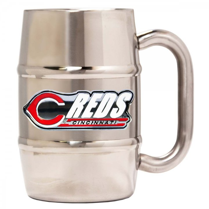 Cincinnati Reds Cincinnati Reds 16 oz Double Wall Stainless Steel Mug