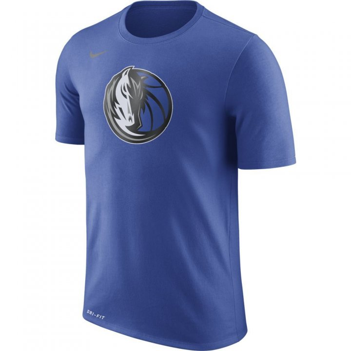 Dallas Mavericks NBA Nike Logo Tee (Royal)