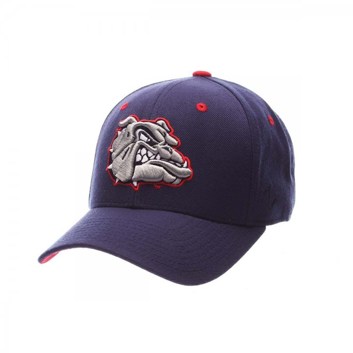 Gonzaga Bulldogs Zephyr NCAA Dhs Fitted Hat (Navy)
