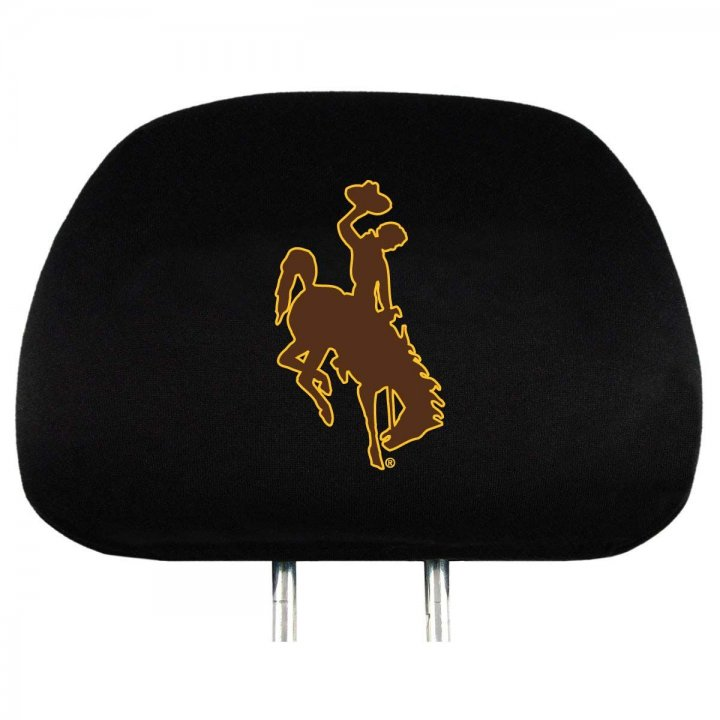 Wyoming Cowboys Headrest Cover