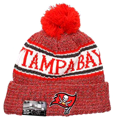 New Era Tampa Bay Buccaneers NFL On Field 18 Sport Knit Beanie Beany M