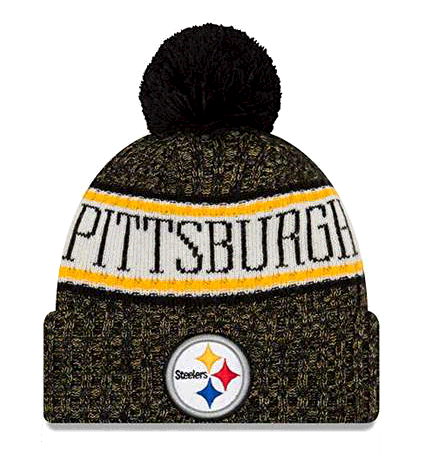 New Era Pittsburgh Steelers NFL 2018 On Field Sport Knit