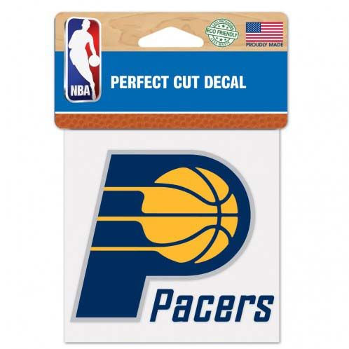 Indiana Pacers 4X4 Color Die Cut Decal