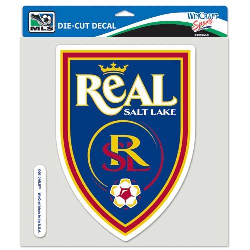 Real Salt Lake MLS 8X8 Die Cut Decal