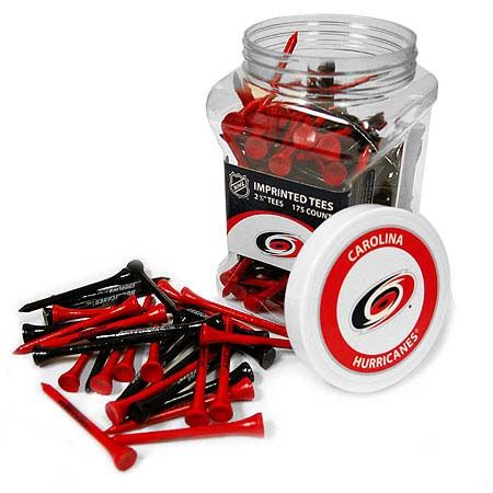 Carolina Hurricanes Imprinted Tee Jar 175 Count